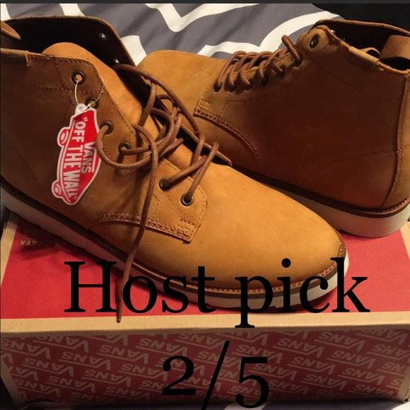 206f83a957 NIB Leather Sahara Boot light brown. Men s 12